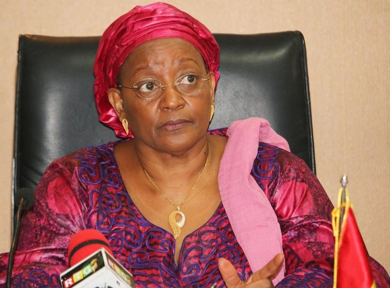 Mama Kanny Diallo, Ministre de la Coopération internationale