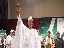Cellou Dalein Diallo, président de  l'UFDG, à son investiture- Photo Africaguinee.com