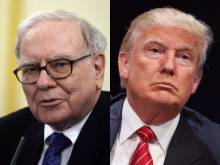 Warren Buffet et Donald Trump-Photomontage