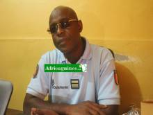 Le Colonel Mamadou Alpha Barry, Porte-Parole du Haut Commandement de la Gendarmerie Nationale