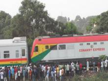 Le train de transport Conakry Express