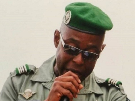 Le Lieutenant colonel Mamadou Alpha Barry