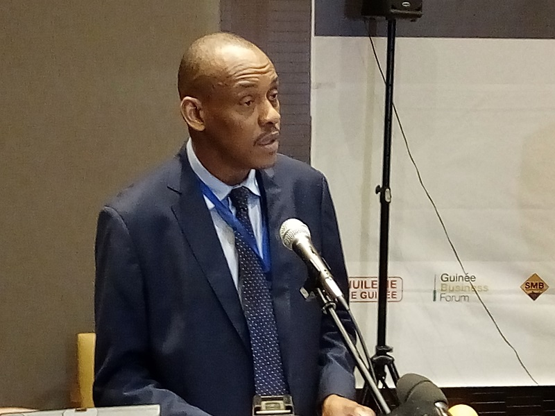 Boubacar Barry, Ministre du Commerce