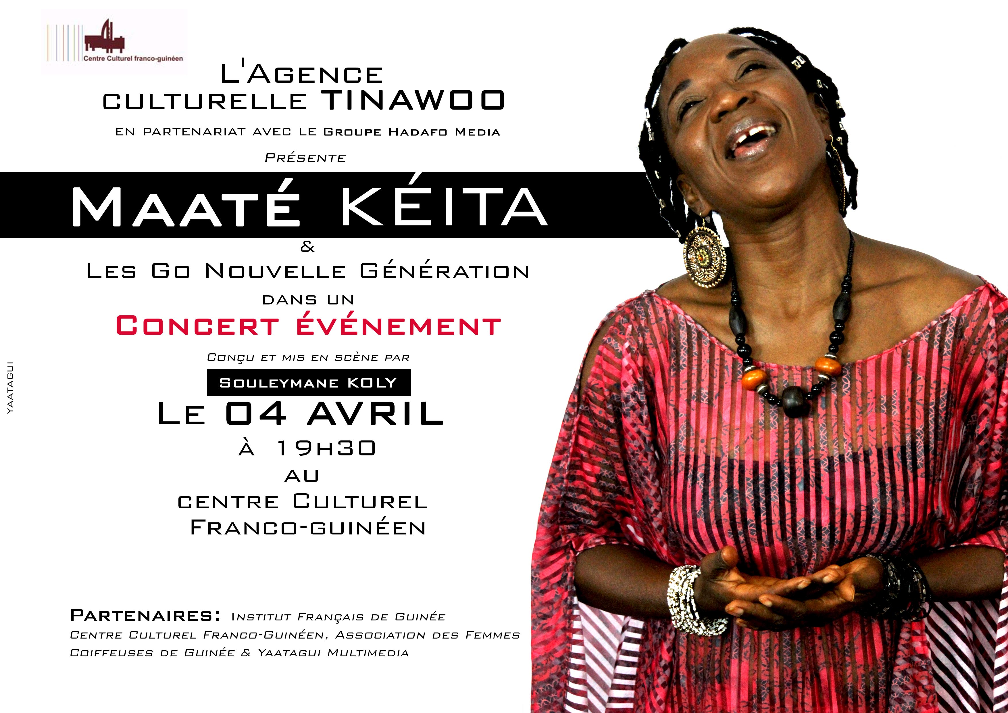 Concert Maate à Conakry