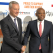 Tony O. Elumelu, CON, Promoteur de la Fondation Tony Elumelu et Président du Groupe United Bank for Africa (UBA) avec Bruno Le Maire, Ministre Français de l'Économie et des Finances, lors de  la conférence du Club France-Afrique Invest à Paris le 30 octobre 2019