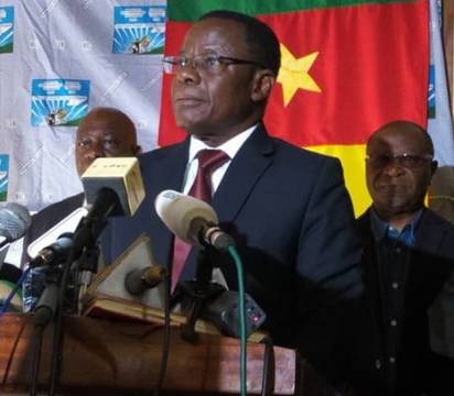 Le candidat de l'opposition Maurice Kamto-AFP