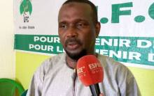 Aboubacar Sylla, leader de l'Union des Forces du Changement