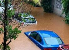 Inondations à Conakry