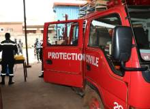 Les services de la protection civile de Kindia