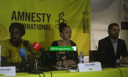 Des responsables d'Amnesty International