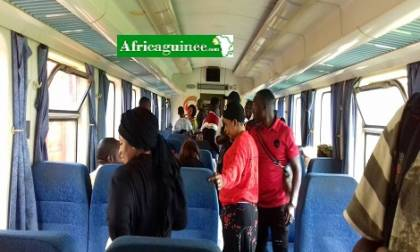 Le train Conakry Express