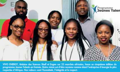 Jeunes Talents Vivo Energy