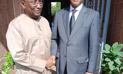 Sidya Touré et Cellou Dalein Diallo