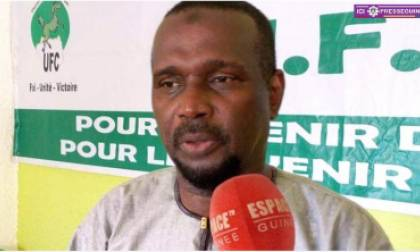 Aboubacar Sylla, leader de l'UFC